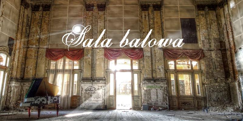 sala balowa z fortepianem