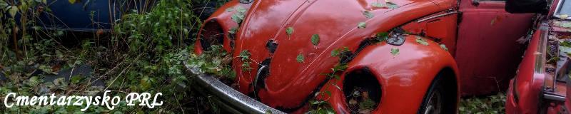 cmentarzysko aut PRL