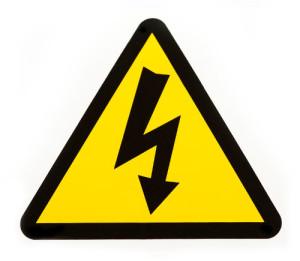 porażenie prądem